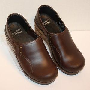 Dansko Phoebe 36 US 5.5 - 6 Brown Leather Upper
